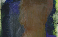 """<p><em>Quotidian 47</em><br />Oil on tracing paper<br />Approx 14"""" x 11""""<br />2013</p>"""