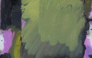 """<p><em>Quotidian 39</em><br />Oil on tracing paper<br />Approx 14"""" x 11""""<br />2012</p>"""
