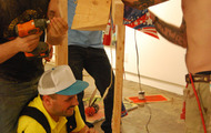<p><em>paintallica bark savages</em>, performance, country club projects, los angeles, 2009.</p>
