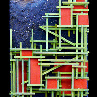 "<p><span id=""fbPhotoSnowliftCaption"" class=""fbPhotosPhotoCaption""><span id=""fbPhotoSnowliftCaption"" class=""fbPhotosPhotoCaption"">Green City - 6""x24"" Mixed media on canvas. 2014</span></span></p>