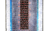 """<p><strong>PROVINCETOWN A.M.</strong>  1991  48"""" x 24""""</p>"""