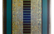 """<p><strong>SILVER FIELD QUINTET (REWORKED) </strong>1986-88  48"""" x 26""""</p>"""