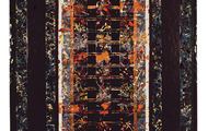 """<p><strong>LITANY</strong>  1995  48"""" x 22""""</p>"""
