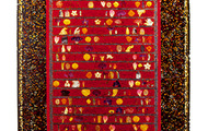 "<p><strong>ABORIGINAL GROUNDS &nbsp; &nbsp;</strong>1997 &nbsp; 96"" x 48""</p>"