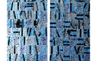 "<p><strong>THE VARIABILITY OF TWINS</strong> &nbsp; &nbsp;1986 &nbsp; 2@ 51"" x 18"" ea.</p>"