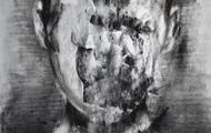 <p>Broken Face II</p> <p>Charcoal and Graphite</p>