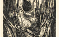 <p><em>Fallof Icarus</em>, 1964, Etching on paper, 6 X 14.75 inches.</p>