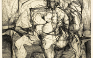 <p><em>Odysseus & Calypso</em>, 1964, Etching on paper, 15 X 12 inches.</p>