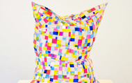 "<p>Glass Pillow     23 x 21 x 13""      2014       plexiglass</p>"