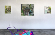 """<p style=""""text-align: center;"""">Dig for Fire installed at Eastside International Los Angeles 2016</p>"""