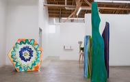 <p>Installation view: Chill Bivouac Rhymes, CB1 Gallery, Los Angeles, 2015</p>