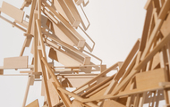 "<p><em>Broken Back (DETAIL)</em>&nbsp;| basswood | h 72"" w 192"" d 4"" 