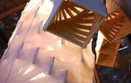 <p><em>Imagine (DETAIL)</em>&nbsp;|&nbsp;plywood and nylon | dimensions may vary | 2007</p>