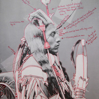 <p>Title: Peelatchiwaaxp&aacute;ash / Medicine Crow (Raven)</p>