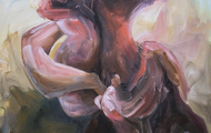 <p><em>Grope</em>      26 x 22 inches     oil on canvas</p>