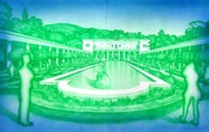 <p>Garden of the Getty, 2005</p>