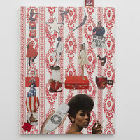 <p>Genevieve Gaignard<br /><em>The Innocent American</em>, 2019<br />Mixed Media on Panel<br />43 x 30 x 2 inches</p>