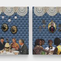 <p>Genevieve Gaignard<br /><em>Untitled, 2020&nbsp;</em><br />Mixed media on Panel<br />20 x 16 x 2 inches&nbsp;</p>