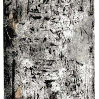 """<p style=""""text-align: center;"""">Remnants</p> <p style=""""text-align: center;"""">7&rdquo;by5&rdquo; drypoint plate on 9&rdquo;by7&rdquo; paper, with chine-coll&eacute;, tapes and staples.</p> <p style=""""text-align: center;"""">Print 2 of 7 in a varied edition.</p> <p style=""""text-align: center;"""">2020</p> <p style=""""text-align: center;"""">Ink, paper, tape on 11&rdquo;by8.5&rdquo; paper.</p> <p style=""""text-align: center;"""">&nbsp;</p> <p style=""""text-align: center;"""">A printed work produced in collaboration with Sara-Jeanne Bourget and Mark Johnsen of <a href=""""https://www.patiopress.ca/"""">https://www.patiopress.ca/</a></p>"""